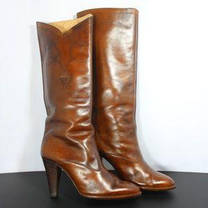 Vaneli Leather Cowboy boots 6.5 AA